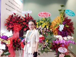 ThS. Phan Nguyễn Khánh Đan - giám đốc công ty phát hành sách Con Đường Tri Thức (Knowledge Road Ltd. Co.)